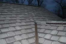 specialty shingles with metal valley
