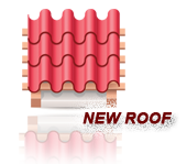 New Roof Design and Installation